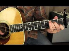 Fleetwood Mac - Landslide - Lesson acoustic finger-picking guitar lesson tutorial! ♫ CLICK through to view or save for later!