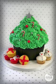 Giant Cupcake Christmas Tree | Flickr - Photo Sharing!