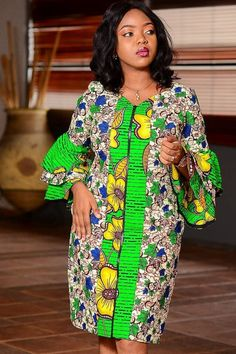 Ankara styles are just like any other clothing styles you know. But the difference between ankara and other clothing styles is Ankara. These ankara styles are new and are also lovely. Short African Dresses, Ankara Short Gown Styles, Latest African Fashion Dresses, African Print Dresses, African Print Fashion, Ankara Styles For Women, Short Gowns, Dress Styles, African Print Dress Designs
