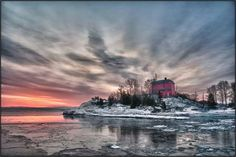 Places like this really do exist! MARQUETTE  MICHIGAN, COAST GUARD STATION