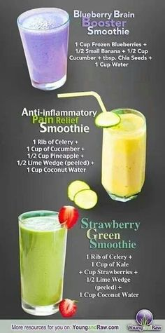 More smoothies