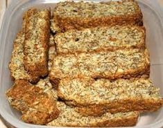 Growwe (all Bran) Beskuit South African Dishes, South African Recipes, Africa Recipes, Rusk Recipe, Malva Pudding, Snack Recipes, Cooking Recipes, Bread Recipes, All Bran