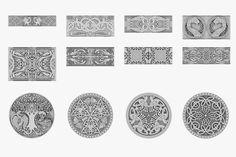 celtic ornaments collection 3d model obj fbx ma mb dae 1 3d Animation, Geometry, Celtic, 3d Printing, Royalty, Ornaments, Artist, Model, Collection