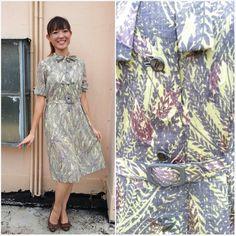 Vintage Dress/ Songs of Lalang Dress/ Medium by HEIRESSxVintage, $38.00