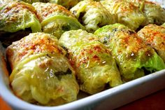 Mary Ann Esposito's delicious recipe for Stuffed Cabbage Cooked in Earthenware is an Umbrian favorite of  hers, and will become yours too.  Simple, delicious comfort food!
