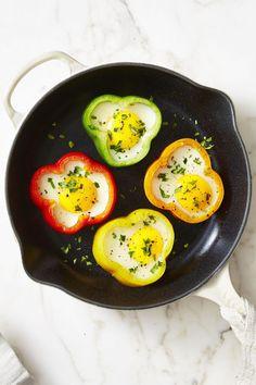 flower power sunny side up eggs