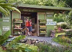 Laulima Farm Stand, Kula, Hawaii