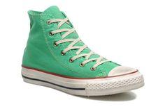 Chaussures CONVERSE - Chuck Taylor All Star Fashion Washed Hi W @ Sarenza.com