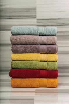 Lusciously thick and woven from the finest pure Egyptian cotton, our 600 gsm solid terry towels are longer lasting and offer the ultimate balance between fluffiness and absorbency.  The Egyptian range comes in a striking color palette for all tastes.  - See more at: http://www.talesma.com/eng/127/talesma--egyptian-towels.html#sthash.xWlKucsA.dpuf