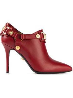 Women's Versace Signature Designer Booties | FW 2014 | cynthia reccord