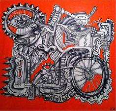 Zio Ziegler, Bicycle Man