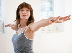 Mit regelmäßigem Training straffe Oberarme erzielen.
