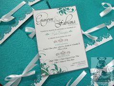 Invitaciones/Invitations  (Boda/Wedding)  Design by: Yil Siritt