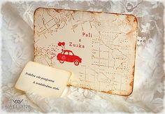 Cestujme spolu/svadobné oznamko