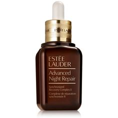 Estee Lauder Advanced Night Repair Synchronized Recovery Complex II (€82) ❤ liked on Polyvore featuring beauty products, skincare, face care, face moisturizers, estee lauder face moisturizer, estée lauder and face moisturizer