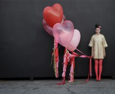 geronimo balloons - so cute for a valentine's party or engagement shoot! not that i'm planning for either one...
