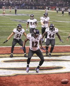 Postseason hero Jacoby Jones will never have to buy a drink in Baltimore again