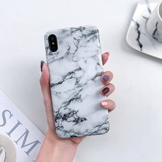 Case Coque iphone 7 XS MAX Back Cover For iphone 6 7 8 Plus iphone X XR - first-sellers Cute Phone Cases, Iphone Phone Cases, Iphone 5s, Free Iphone, Phone Covers, Marble Iphone Case, Marble Case, Iphone 8 Plus, Iphone7 Case