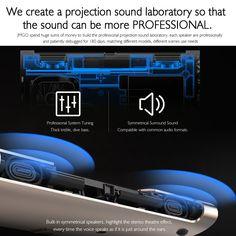 JMGO M6 Portable DLP Projector Sales Online golden - Tomtop Surround Sound Systems, Tech Accessories, Building, Buildings, Construction