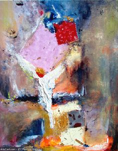 Artwork >> Pascale Montout >> Above ... #artworks, #masterpiece, #painting, #art, #abstract