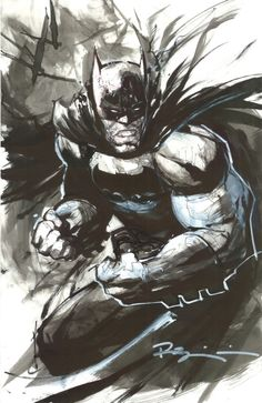 lyrafay: Batman by Ryan Benjamin