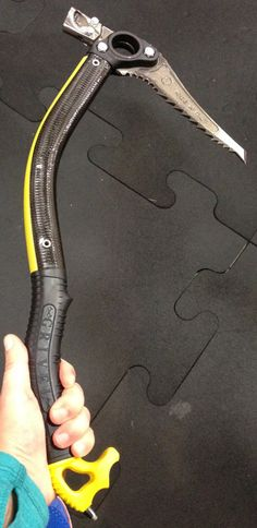 Grivel is bringing out a carbon version of the North Machine alpine tool.   #alpine #climbing #Grivel #iceclimbing