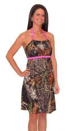 Allison Camo Sun Dress
