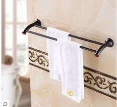 37.13$  Watch now - https://alitems.com/g/1e8d114494b01f4c715516525dc3e8/?i=5&ulp=https%3A%2F%2Fwww.aliexpress.com%2Fitem%2FNew-Arrivals-Wall-Mounted-DoubleTowel-Bar-Black-Bathroom-Towel-Holder-Brass-Towel-Rack-Bathroom-Accessories%2F32679873041.html - New Arrivals Wall Mounted DoubleTowel Bar,Black Bathroom Towel Holder, Brass Towel Rack ,Bathroom Accessories
