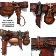 Edit your Western Black Powder Revolver Rig Leather Bags Handmade, Leather Craft, Old West, Estilo Cowgirl, Custom Leather Holsters, Western Holsters, Cowboy Action Shooting, Cowboy Gear, Gun Holster