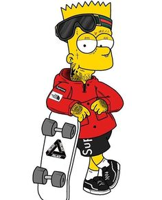 Fiverr freelancer will provide Cartoons & Comics services and design you an hypebeast cartoon art including Figures within 4 days Supreme Iphone Wallpaper, Simpson Wallpaper Iphone, Hype Wallpaper, Graffiti Wallpaper, Cartoon Wallpaper Iphone, Simpsons Drawings, Simpsons Art, Homer Simpson, Bart Simpson High