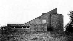 Steimel House, Hennef, Germany, 1961 (O.M. Ungers)