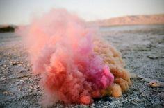 color smoke | Tumblr