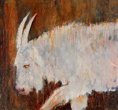 Mel McCuddin, Blue Billie 2011, oil on canvas