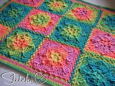 Simple Go To Crochet Blanket | AllFreeCrochet.com