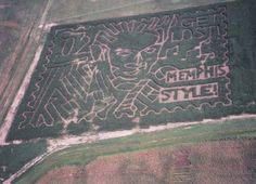 The 2002 Mid-South Maze Cornfield Maze, Memphis, TN