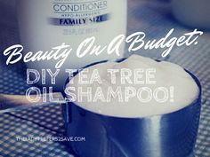 Good afternoon, savvy savers! For this weeks Beauty on a Budget, I wanted to share with you my recipe for Homemade Shampoo! After years of purchasing Paul Mitchell's Tea Tree Oil Shampoo, I started...
