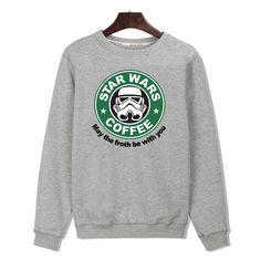 """Star Wars"" Fun Sweatshirt + Free Gift"