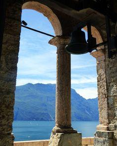Riva del Garda - dalla cima della Torre Apponale
