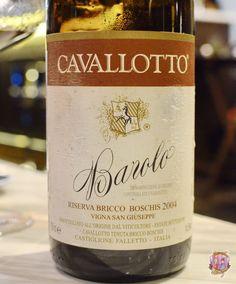 Cavallotto Barolo Riserva Bricco Boschis Vigna San Giuseppe 2004  #Cavallotto #Barolo #riserva #nebbiolo #redwine #wine #piedmont #piemonte #italianwine #oldworld
