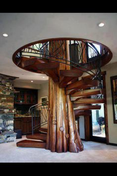 Very cool staircase!
