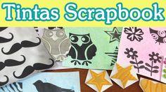 Haz Tintas Scrapbooking / Tutorial Scrapbook DIY