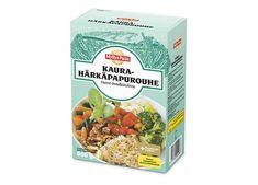 Kaura-härkäpapurouhe. Kotimainen vaihtoehto soijarouheelle.