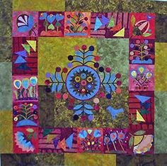Sue Spargo :: Folk Art Quilts