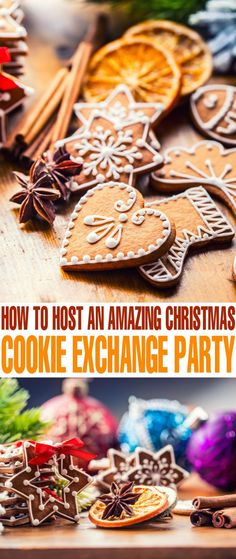 Do you want to throw a cookie exchange party this Christmas? Throwing a Christmas cookie exchange party gives friends and family the opportunity to get together and have fun.