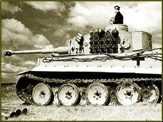 German Tiger I tank (#231) from the sPzAbt 502 in Russia, mid-1943.
