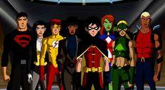 Young Justice Season 1 Team
