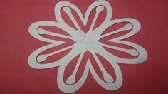 Paper Cutting How To Make Design Flowers Kirigami DIY Tutorial Step By