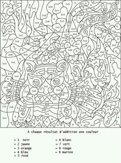Home Decorating Style 2020 for Coloriage Halloween Numero, you can see Coloriage Halloween Numero and more pictures for Home Interior Designing 2020 19652 at SuperColoriage. Colouring Pages, Adult Coloring Pages, Coloring Sheets, Free Coloring, Coloring Books, Adult Color By Number, Color By Numbers, French Colors, Hidden Pictures