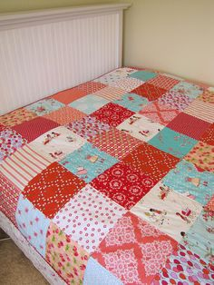 sarah jane quilt by sewfunbymonique, via Flickr
