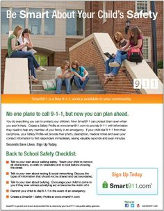 Be Smart About Your Teen's Safety. Complete this safety checklist before your child heads back to school. #schoolsafety #kidssafety
